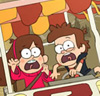 Gravity Falls Mystery Tour Ride